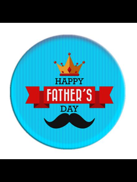 Happy Father's Day Printed Designer Pop Socket-POPS0017A