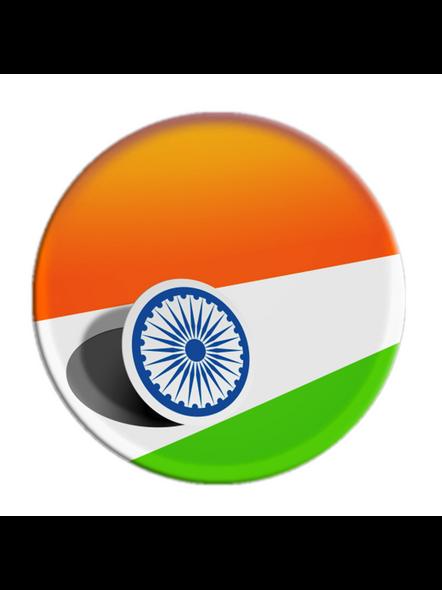 Indian Flag Printed Pop Socket-POPS0025A