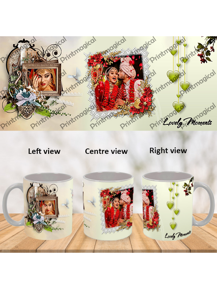 Lovely Moments Personalized Special White Mug-WM0046A