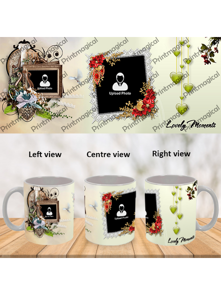 Lovely Moments Personalized Special White Mug-White-1