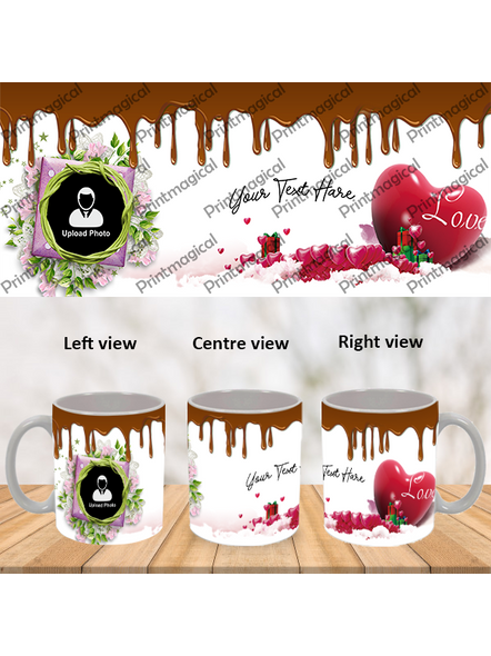 Chocolate Pudding Personalized Special White Mug-1