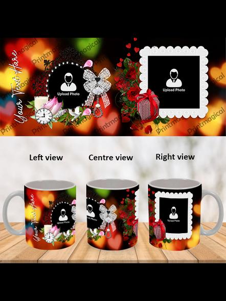 Wedding Frames Designer Personalized Special White Mugs-1