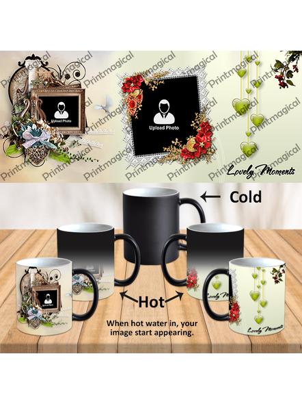 Lovely Moments Personalized Black Magic Mug-1