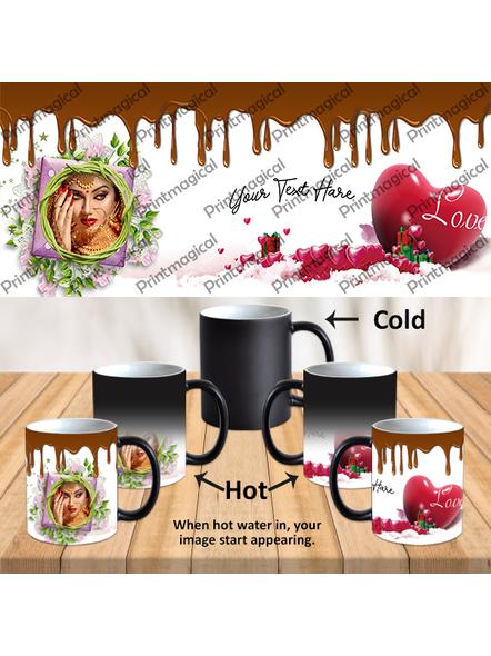 Chocolate Pudding Personalized Black Magic Mug-MM0026A