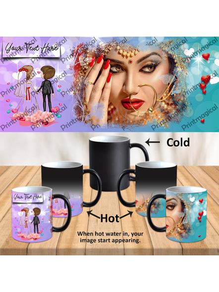 Dream Couples Personalized Black Magic Mug-MM0027A