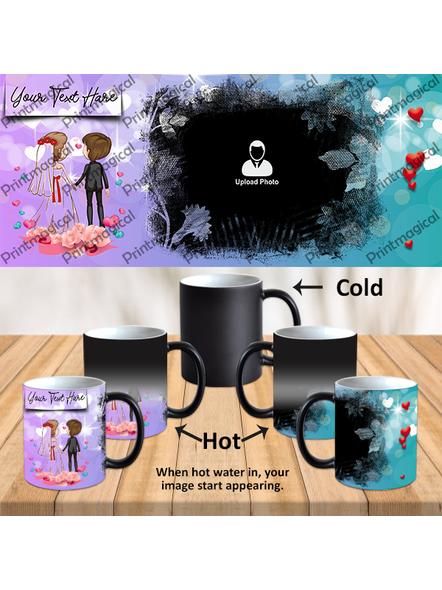 Dream Couples Personalized Black Magic Mug-1