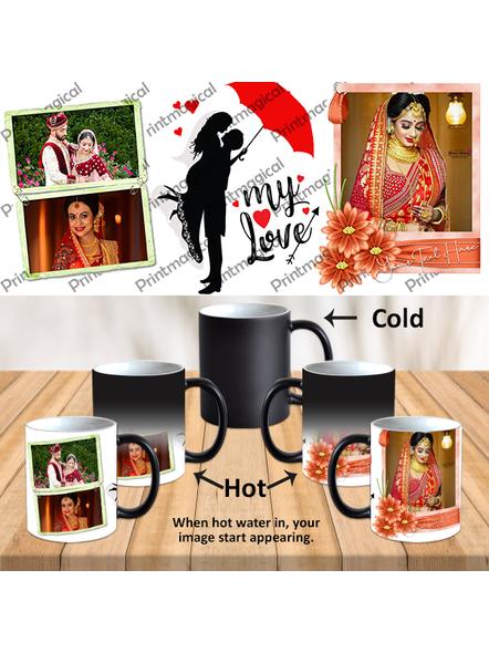My Love Couple Love Personalized Black Magic Mug-MM0029A