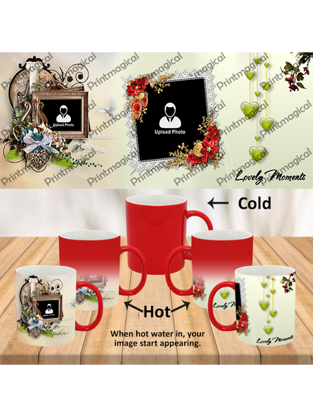 Lovely Moments Personalized Red Magic Mug-1