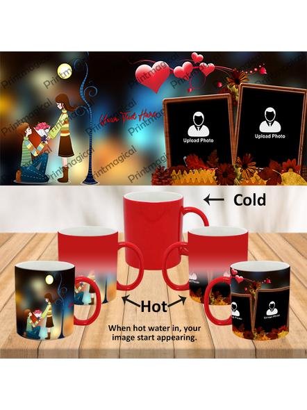 Proposing Couple Personalized Red Magic Mug-1