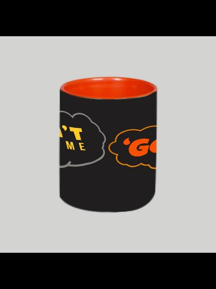 Don't call me Golu Orange Inner Colour Mug-1