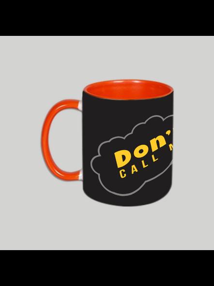 Don't call me Golu Orange Inner Colour Mug-2