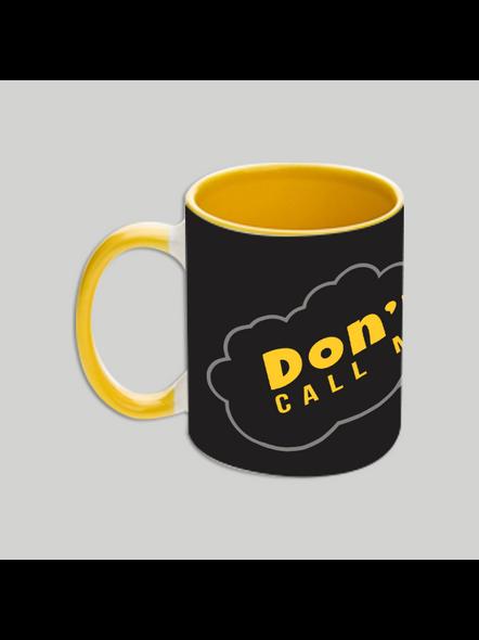 Don't call me Golu Yellow Inner Colour Mug-2