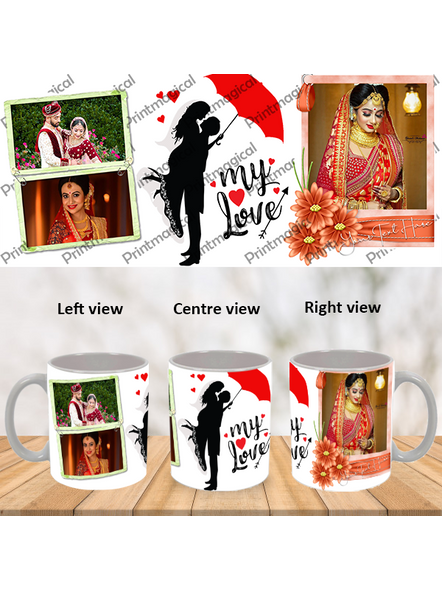 My Love Couple Love Personalized Special White Mug-WM0056A-3