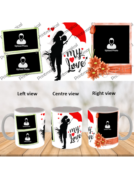 My Love Couple Love Personalized Special White Mug-1