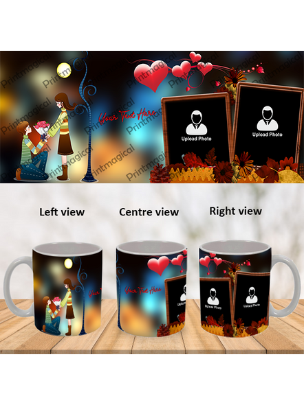 Proposing Couple Personalized Special White Mug-1