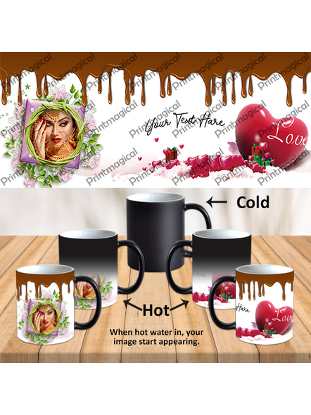 Chocolate Pudding Personalized Black Magic Mug-MM0026A-10