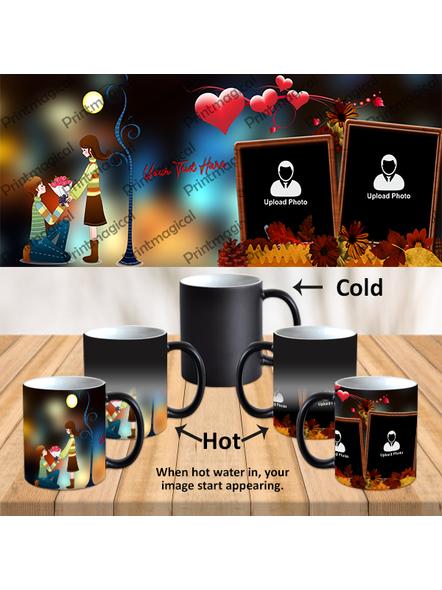 Proposing Couple Personalized Black Magic Mug-1