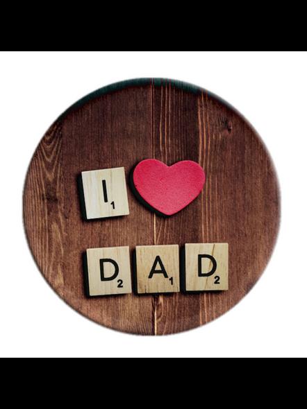 I Love my Dad Printed Pop Socket-POPS0018A-21