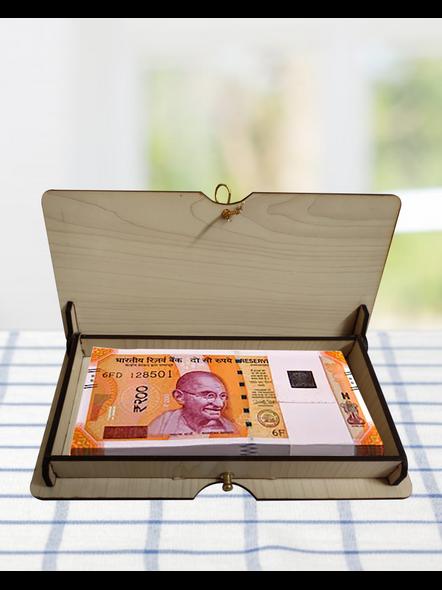 Wooden Cash Note Box-1