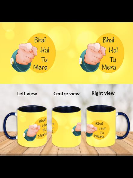 Bhai hai tu mera Blue inner colour Mug-ICBM0011A-1