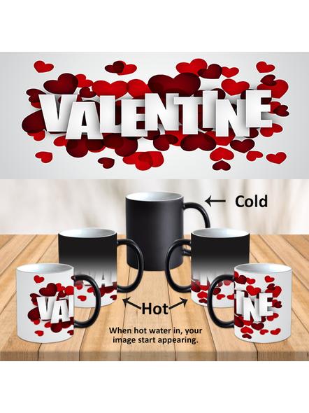 Multi hearts super Designer Black magic Mug-MM0016A-1