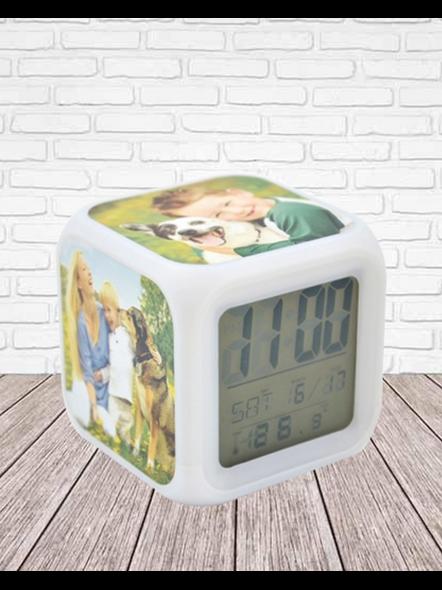 LED Alarm Clock-2