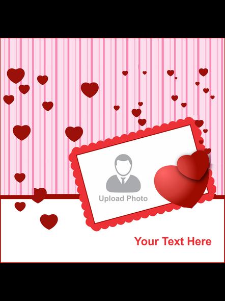 Personalized Loving Hearts LED Cushion-2