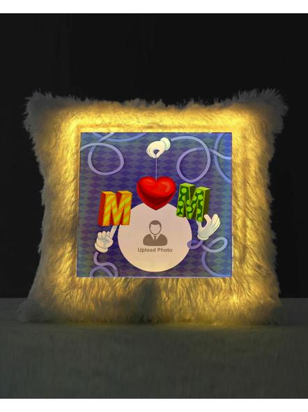 Loving MOM Special Personalized LED Cushion-LEDCUSWOR010A