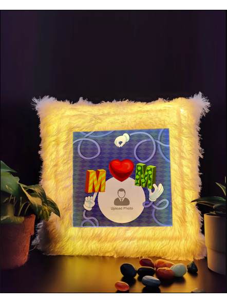 Loving MOM Special Personalized LED Cushion-1