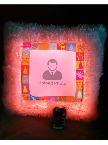 Happy New Year  Personalized LED Cushion with Remote-LEDCUSWR002A