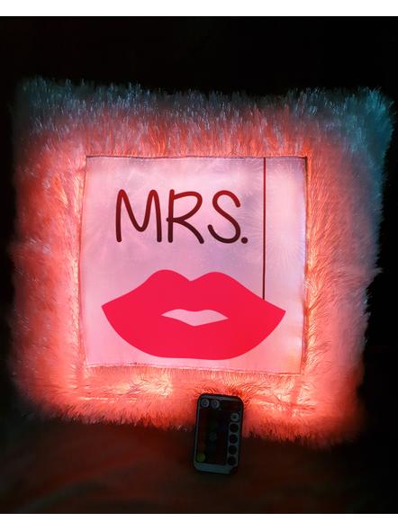 Mrs. Loving Special LED Cushion with Remote-LEDCUSWR007A