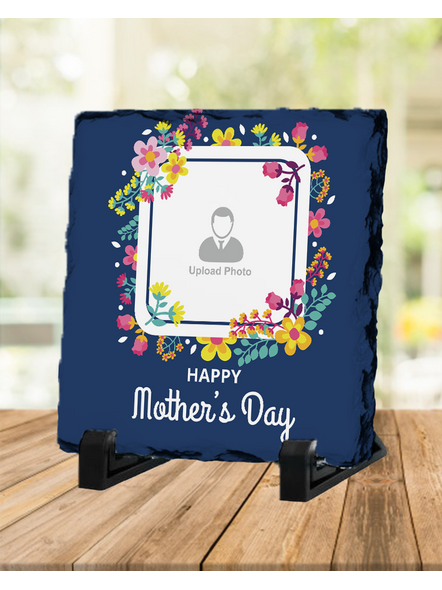 Mother's Day Special Thanks Square Photo Rock Stone-1