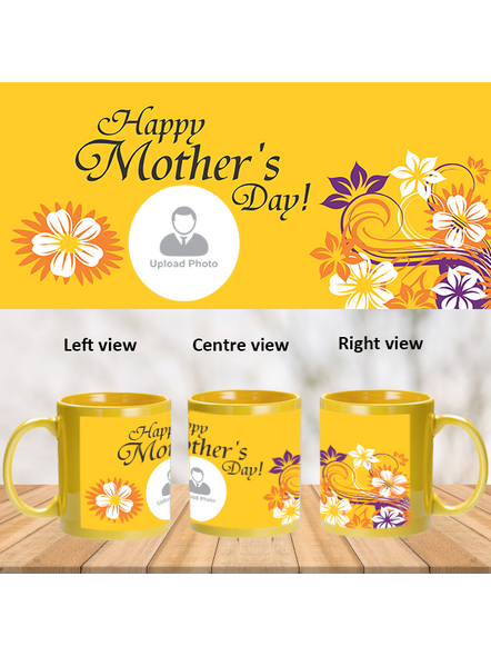 Happy Mother's day Personalized Patch Mug-PYM0015A