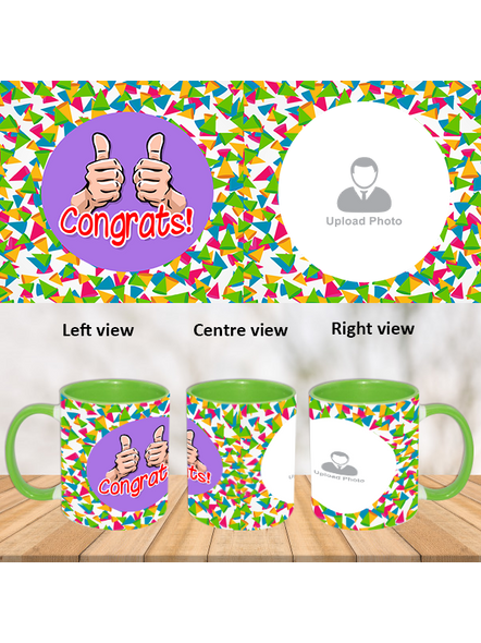 Thumbs up green inner colour Mug-ICGM0005A-1