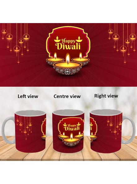 Special Wishes Diwali Special White Mug-WM0066A