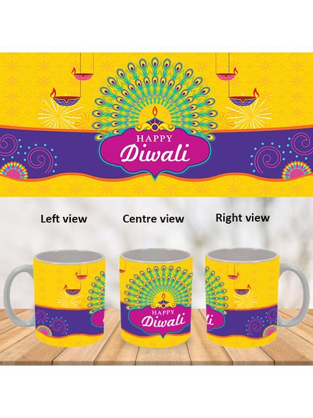 Diwali Lights Special White Mug-WM0071A