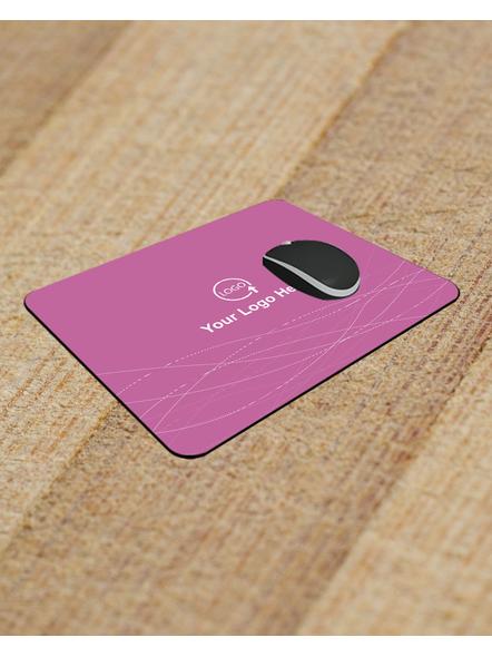 Pink Patterns Corporate Designer Customized Rectangle Mouse Pad-RECTANGLEMP0018A