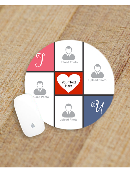 Friends Forever Personalized Round Mouse Pad-ROUNDMP0001A
