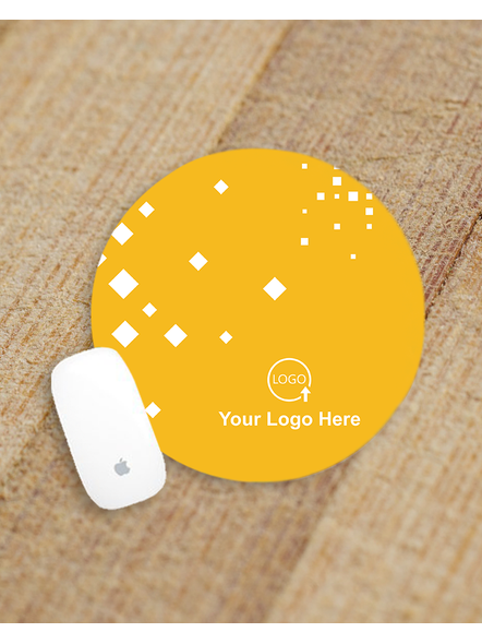Designer Border Customized Round Mouse Pad-ROUNDMP0005A