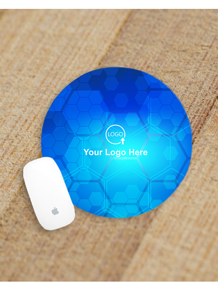 Flower Designer Personalized Round Mouse Pad-ROUNDMP0006A