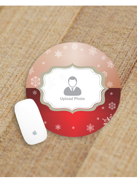 Corporate Designer Pattern Customised Round Mouse Pad-ROUNDMP0012A