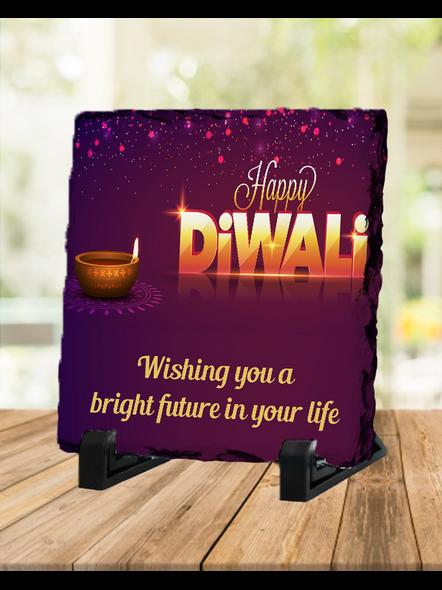 Diwali 3D View Square Photo Rock Stone-SQRFOTOR0035A