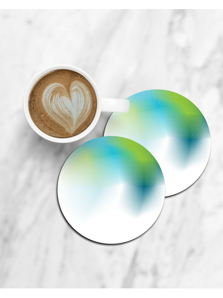Water Color Texture Round Coaster-CCOSTER0006