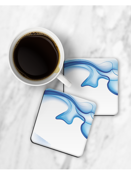 3D Water View Printed Square Coaster-RCOSTER0001