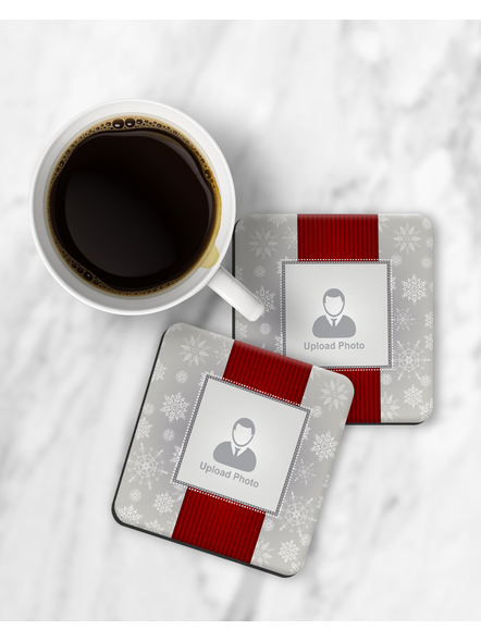 Premium Personalized Pattern Printed Square Coaster-RCOSTER0009