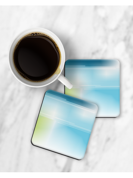 Water Color Shade Designer Square Coaster-RCOSTER0014