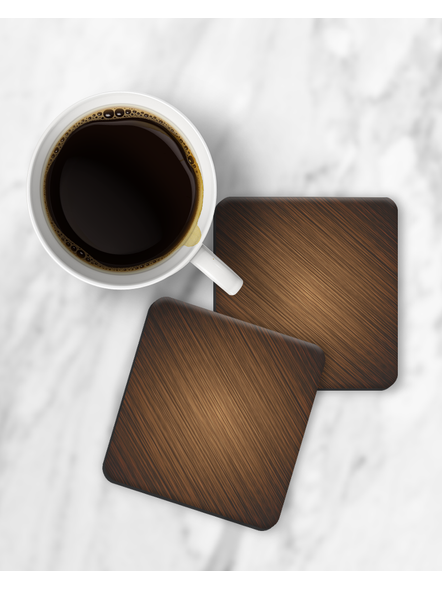 Wooden Texture Square Coasters-RCOSTER0019