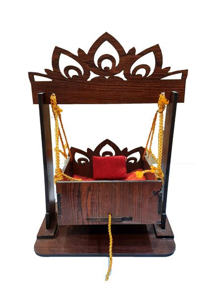Kanha Ji Jhula with Adjustable Frame Small Size-kanhasmalljh002