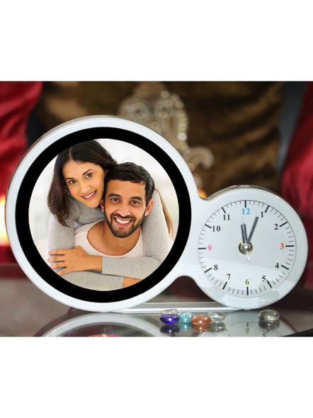 Personalized Magic Mirror with Clock-Mirrorclock001