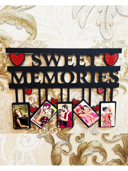 Sweet Memories Wooden Frame| Anniversary Gift| Love Gifts| Gifts for all occasions-SweetMemories01